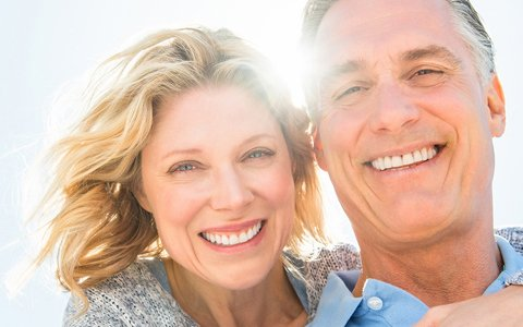 dentures Cypress TX implant-supported dentures Tomball
